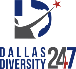 Dallas Diversity 24 7 Logo